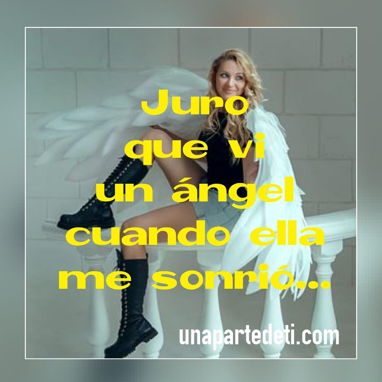 Juro que vi un ángel...
