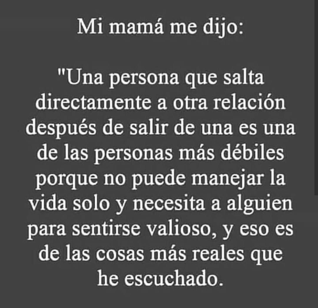 Mi mamá me dijo...